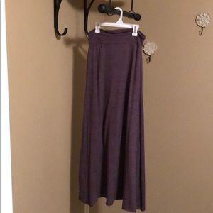 Alternative maxi skirt